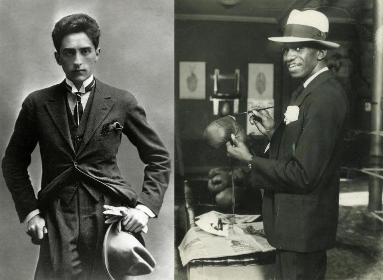 Cocteau-Al Brown, le poète et le boxeur <br> documentaliste : Catherine Jivora <br> © Mary Evans Picture/SIPA et Les Films de l'Instant