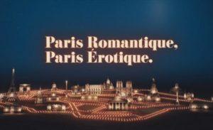 Paris romantique Paris érotique